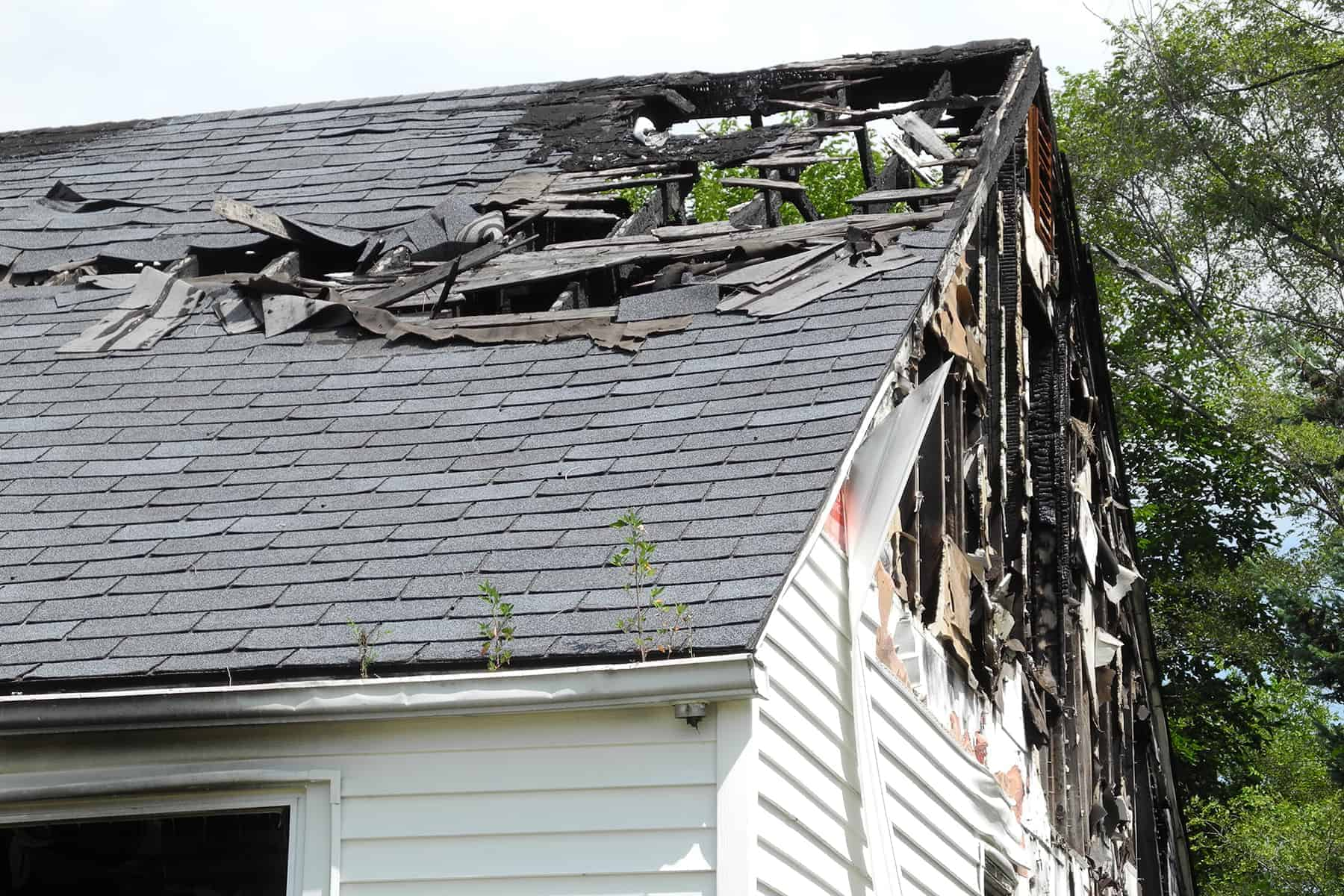 what can be salvaged after a house fire